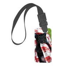 Scottish Terrier Puppy Play Luggage Tag