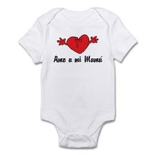 Amo a mi Mama Infant Bodysuit