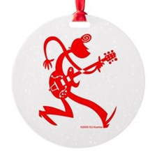 Guitarplayer Ornament