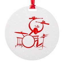 Drummer Ornament