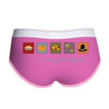 As We Give Thanks Women's Boy Brief
