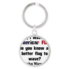 The Patriot Round Keychain