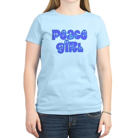 Peace Girl Women's Light T-Shirt