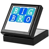 Big Bro (Blue/Green) Keepsake Box