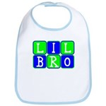 Lil Bro (Blue/Green Bright) Bib