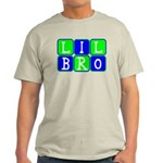 Lil Bro (Blue/Green Bright) Light T-Shirt