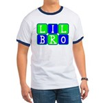 Lil Bro (Blue/Green Bright) Ringer T