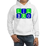 Lil Bro (Blue/Green Bright) Hooded Sweatshirt