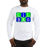 Lil Bro (Blue/Green Bright) Long Sleeve T-Shirt