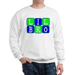 Lil Bro (Blue/Green Bright) Sweatshirt
