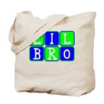 Lil Bro (Blue/Green Bright) Tote Bag