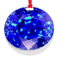 Sapphire Ornament