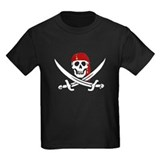 Funny Captain jack sparrow carribean jolly rogers T