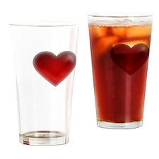 I Heart Blakely Island Drinking Glass