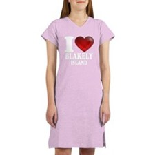I Heart Blakely Island Women's Nightshirt