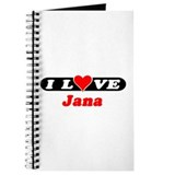 I Love Jana Journal