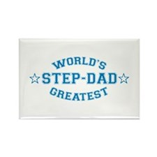 World's Greatest Step-Dad Rectangle Magnet
