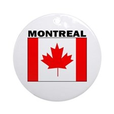 Montreal, Quebec Ornament (Round)
