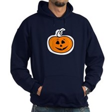 Carved pumpkin head design Hoodie