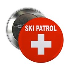 "Ski Patrol 2.25"" Button (100 pack)"
