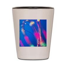 Optical fibres Shot Glass