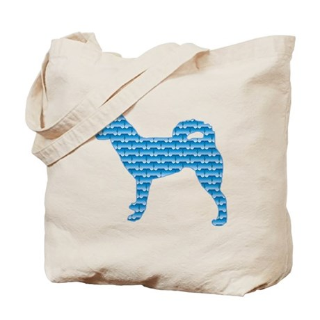 Bone Klee Kai Tote Bag
