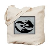 Funny American sign language Tote Bag