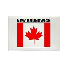 New Brunswick Rectangle Magnet