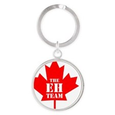 The Eh Team Round Keychain
