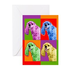 Cocker Spaniel Greeting Cards (Pk of 10)