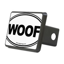 WOOF! Black Hitch Cover