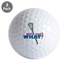 Lacrosse Stick Green Golf Ball