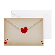 Sealed With A Kiss Pillow Case Greeting Card