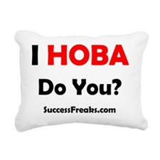HOBA - Success Freaks Rectangular Canvas Pillow