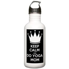 Keep Calm and Do Yoga  Water Bottle