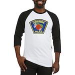 Orange Police Baseball Jersey