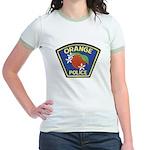 Orange Police Jr. Ringer T-Shirt