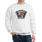 Orange Police Sweatshirt
