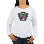 Orange Police Women's Long Sleeve T-Shirt