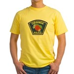 Orange Police Yellow T-Shirt