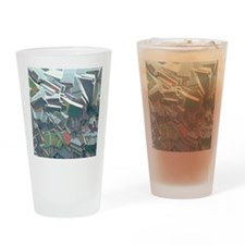 Sucrose crystals, SEM Drinking Glass