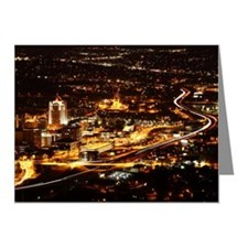 Panorama view of Roanoke Vir Note Cards (Pk of 20)