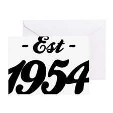 Established 1954 - Birthday Greeting Card
