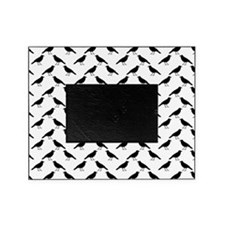 Black Crow Pattern. Picture Frame