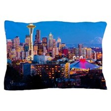 Seattle downtown Pillow Case
