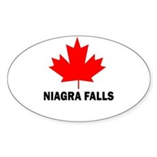 Niagra Falls Oval Decal