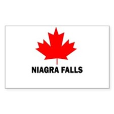 Niagra Falls Rectangle Decal