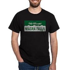 Visit Beautiful Niagra Falls T-Shirt