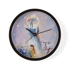 vb_h_wooden  Wall Clock