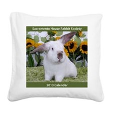 Calendar Cover-Presto in Sunf Square Canvas Pillow